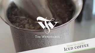 How to make Iced Coffee w/ Tim Wendelboe