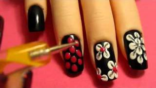 Easy Flower Nail Designs Techniques