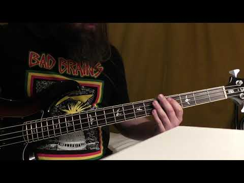 """""""Abolish Government/Superficial Love"""" - T.S.O.L. - SLAYER Bass Cover"""