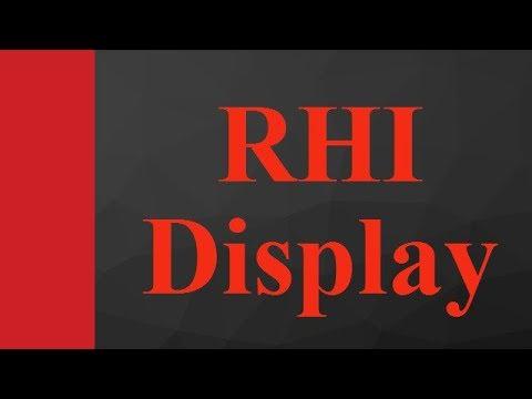 Range Height Indicator Rhi Radar Display In Control