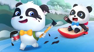 Đó có phải là Kiki Gấu trúc Kiki panda và những người bạn Phim hoạt hình thiếu nhi hay BabyBus