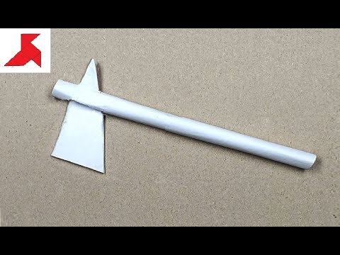 DIY - Как сделать ТОМАГАВК из бумаги а4 своими руками?
