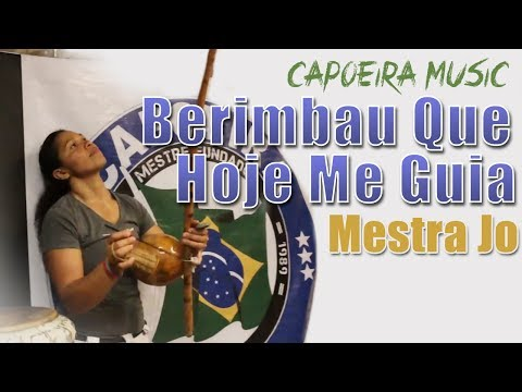 [Capoeira Song] Mestra Jo - Berimbau Que Hoje Me Guia - Lyric Video