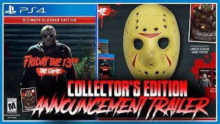 Announcement Trailer | The Ultimate Slasher Collector's Edition | Friday the 13th: The Game