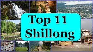 Shillong Tourism | Famous 11 Places to Visit in Shillong Tour