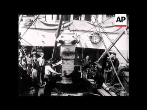 Italian Salvage Ship Place Under Arrest