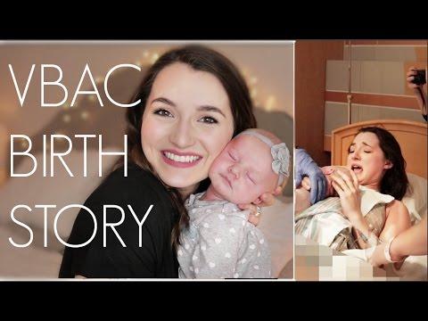 VBAC BIRTH STORY | Drug-Free Natural Birth | Natalie Bennett