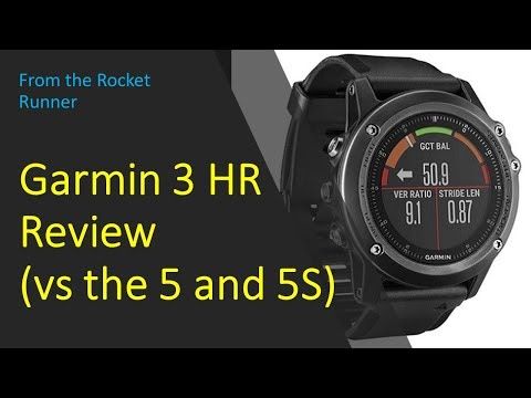 Garmin Fenix 3 HR Review (also Vs Fenix 5 And 5S)