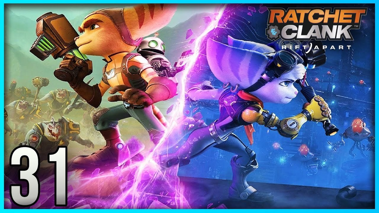 Ratchet and Clank: Rift Apart 100% Playthrough Part 31 - Renegade Legend Difficulty (PS5)