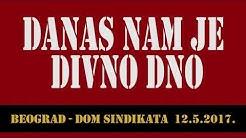 DANAS NAM JE DIVNO DNO - cela predstava! (Dom Sindikata, 12.05.2017.)  #ostaniukući