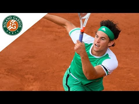 Dominic Thiem - Top 5 | Roland-Garros 2017