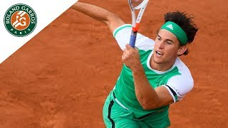 Dominic Thiem - Top 5 Best Shots | Roland-Garros 2017