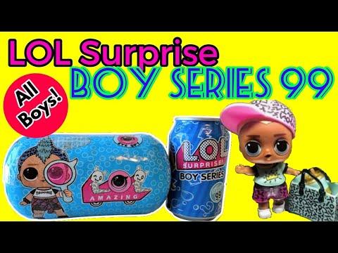 LOL Surprise Series 4 Wave 3 Boy Series Full Unboxing   Rare LOL Boy Scribbles   FAKE LOL