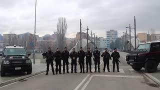 Auguri da Pristina dal Reggimento MSU