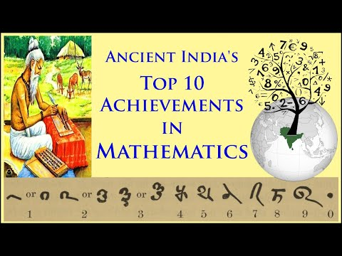 Ancient India's Top 10 Achievements in Mathematics (Hindi) प्राचीन भारत की गणित में Top10 उपलब्धियां