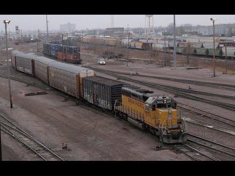 Union Pacific Proviso Yard Dec 2014