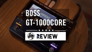 BOSS GT-1000 CORE Review - How Does It Compare to HX Stomp? | Better Music