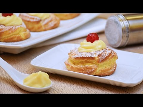 Zeppole all'arancia al forno - Ricetta di Fidelity Cucina
