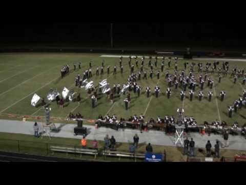 Walker Valley High School Mustang Band; October 22,  2016 Volunteer Classic