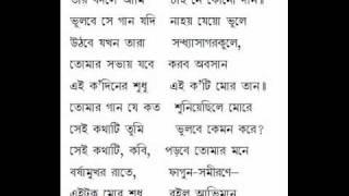 Ami Tomay Jato Suniyechhilem Gaan - Indrani