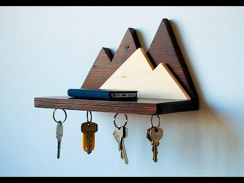 Diy Wooden Design Keyholder Youtube Wooden Diy Wooden Key Holder Wooden Design