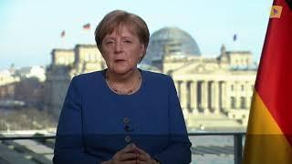 Звернення Ангели Меркель до Німеччини