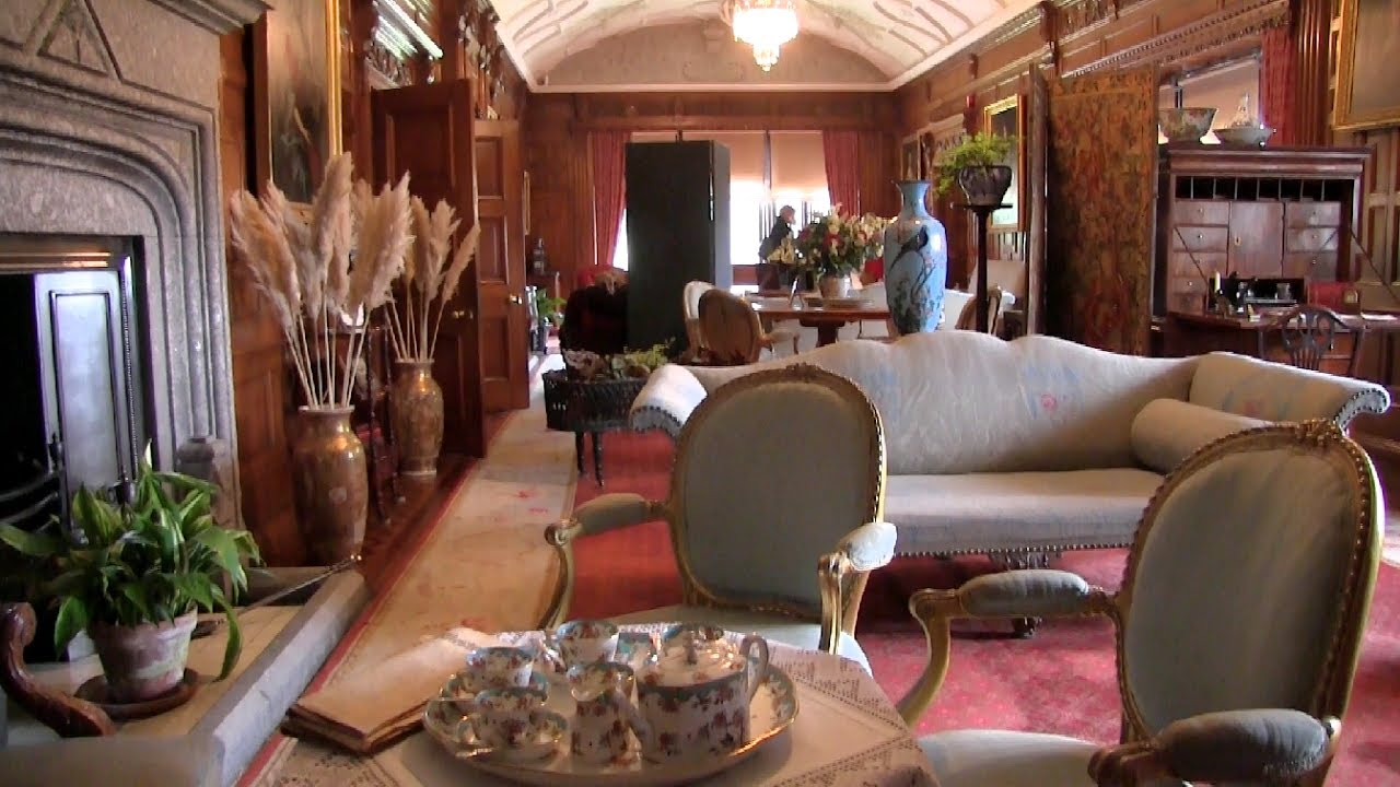 Inside Lanhydrock House Cornwall Youtube