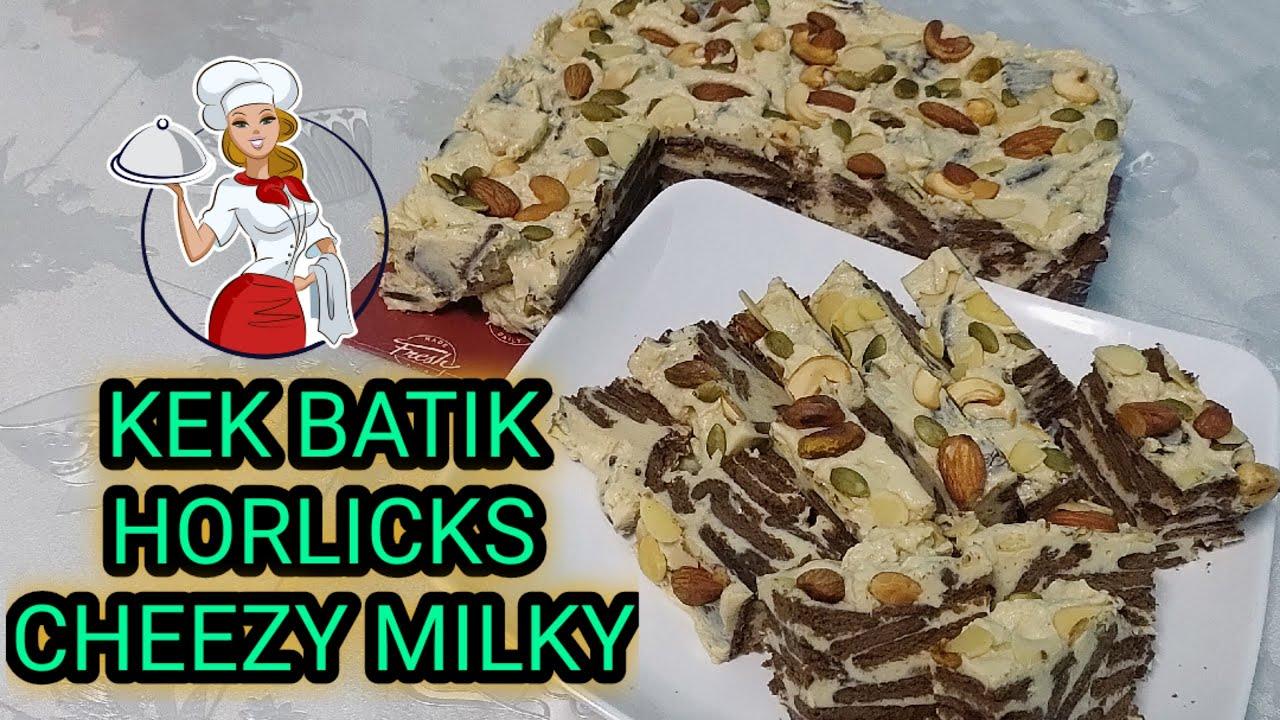 Resepi Kek Batik Cheese Milky Sangat Mudah Dan Rasa Mewah Youtube