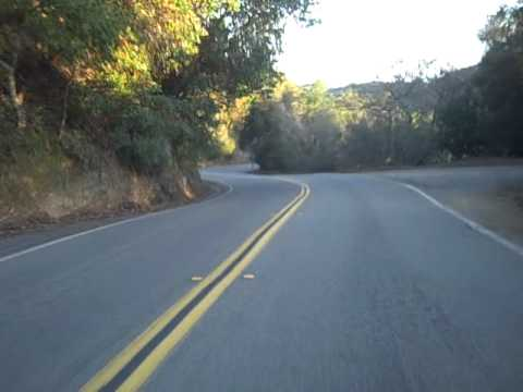 Motorcycle ride on Redwood Rd., San Francisco East Bay Area