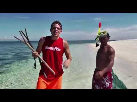 Camiguin, Mantigue Island - Sea Urchin Hunting (BecomingFilipino)