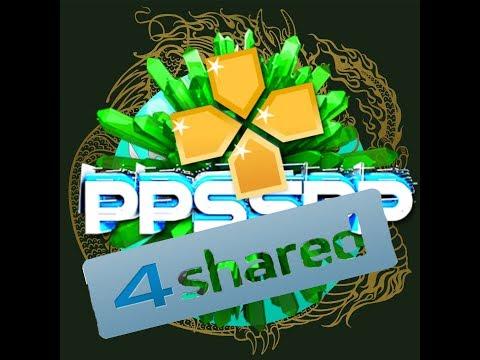شرح تفصيلى لطريقة تنزيل ألعاب الـppsspp برنامج 4shared
