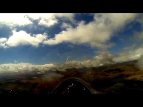 My first glider flight! Grob G103a Twin II - Byron Airport, CA - Low res