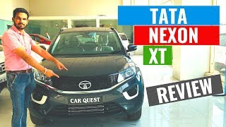2019 Tata Nexon XT Variant Full Detailed Review | Interior & Exterior | Specification | CarQuest