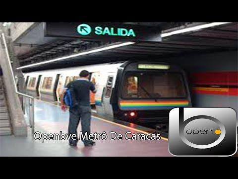 Openbve Linha 1 Metrô Caracas Part 1
