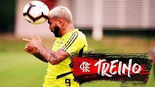 Flamengo faz último treino antes de enfrentar o Vasco