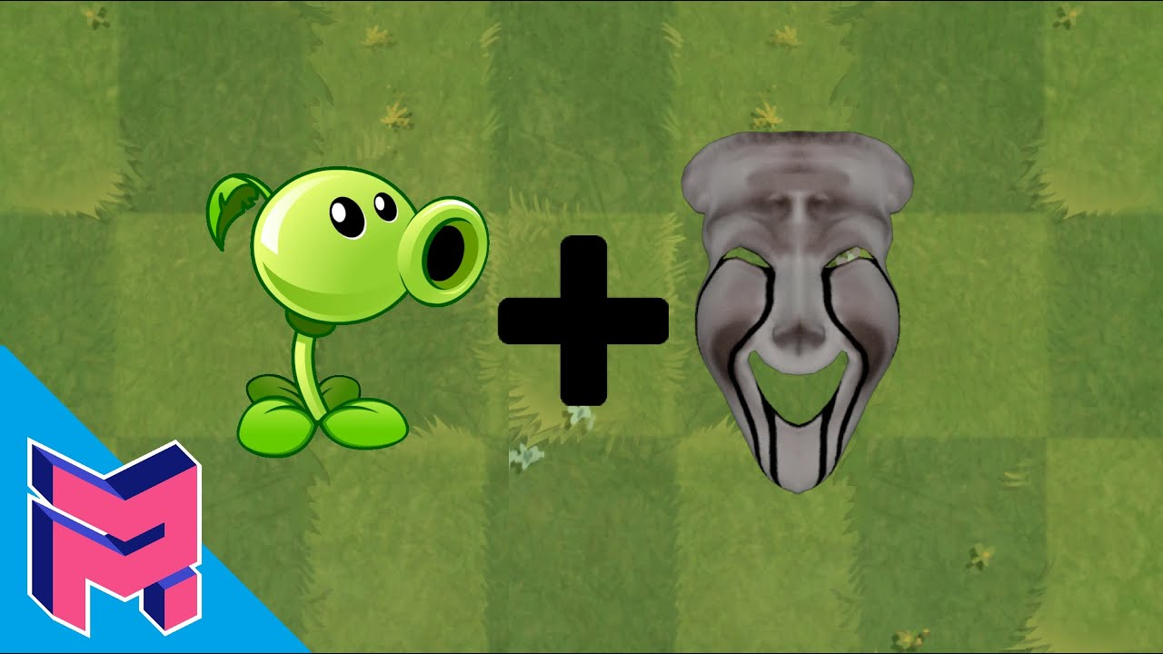 Download Plants vs Zombies Fusion Hack Animation ( Peashooter + SCP-035 )