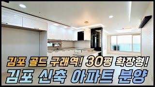 김포 구래역 30평 신축 아파트 분양/김포골드라인 구래…