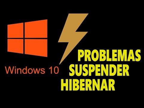 Cómo arreglar problema al SUSPENDER / HIBERNAR / APAGAR Windows 10