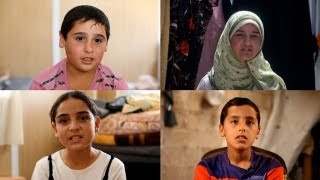 Syria's child refugees: 'You feel that they have lost their hearts' thumbnail