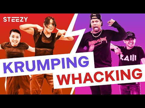 Krump vs. Whacking – Dancers Learn Each Other's Styles! | STEEZY.CO
