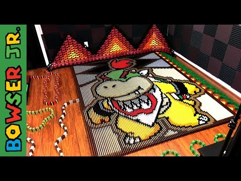 Thumbnail: Bowser Jr. (IN 23,400 DOMINOES!)