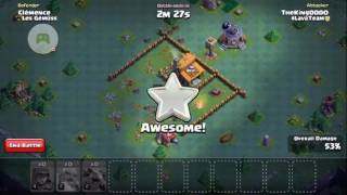 D&L - Clash of Clans : (builder base) attack for fun :)
