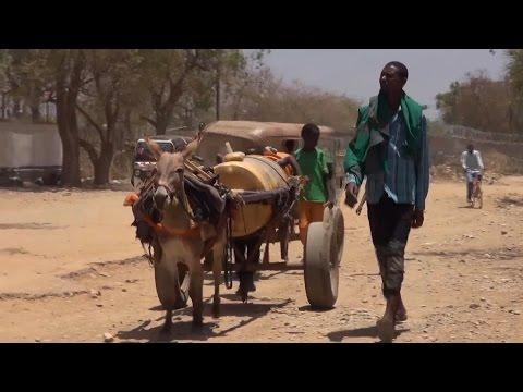 Somali'de çocukların tek isteği yaşamak