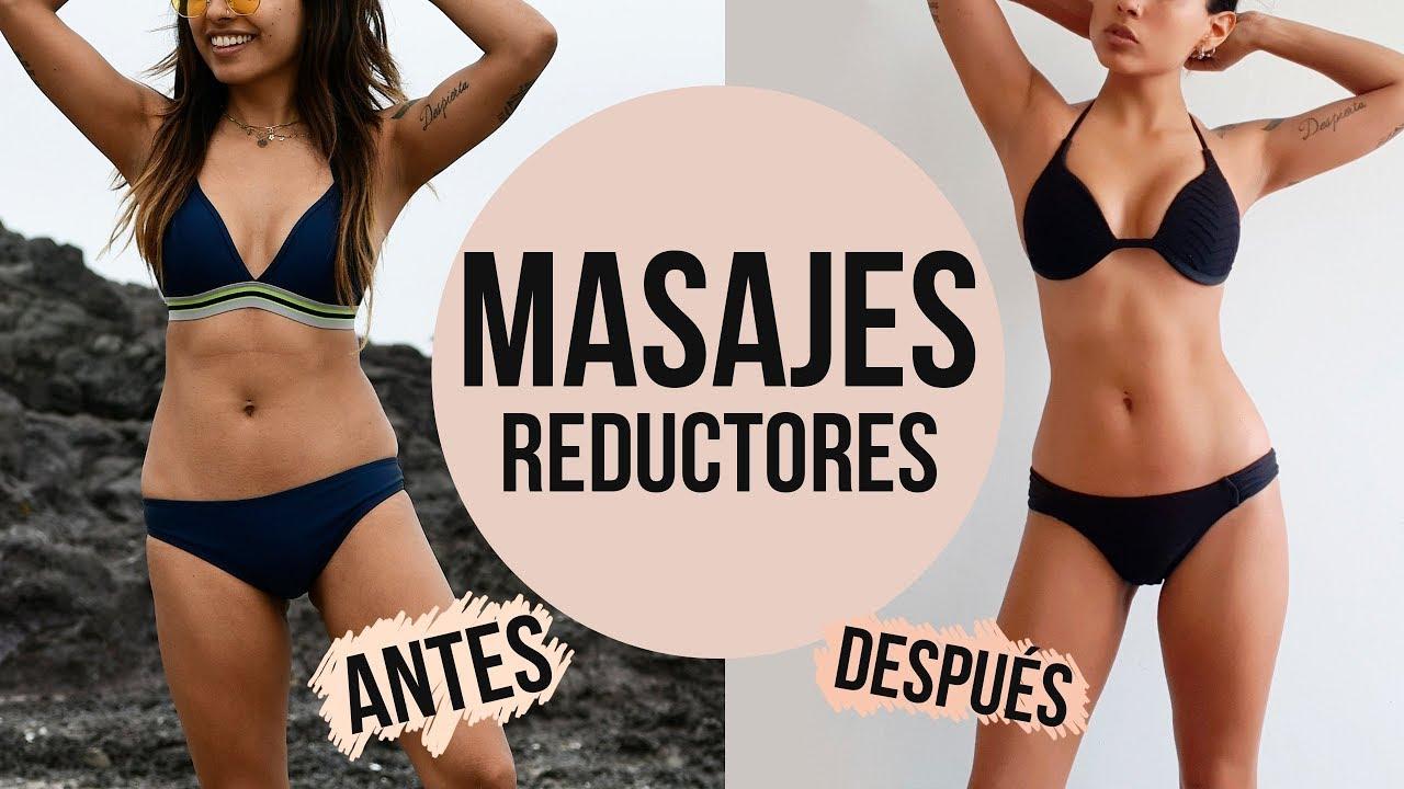 masajes reductores bajar de peso