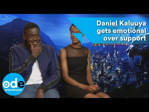Black Panther: Daniel Kaluuya gets emotional over support
