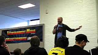 Chris Sabat Q&A [Part 1/3] @ Collectormania London / The Entertainment Media Show 2010
