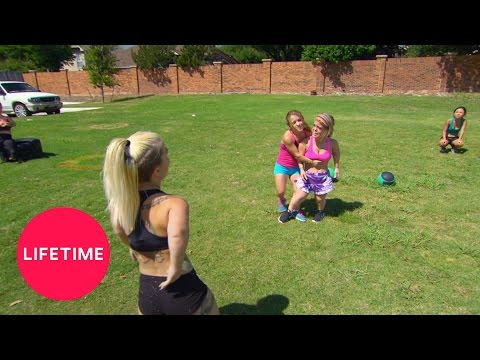 Little Women: Dallas - Caylea And Tiffani Fight At Boot Camp (Season 1, Episode 3) | Lifetime