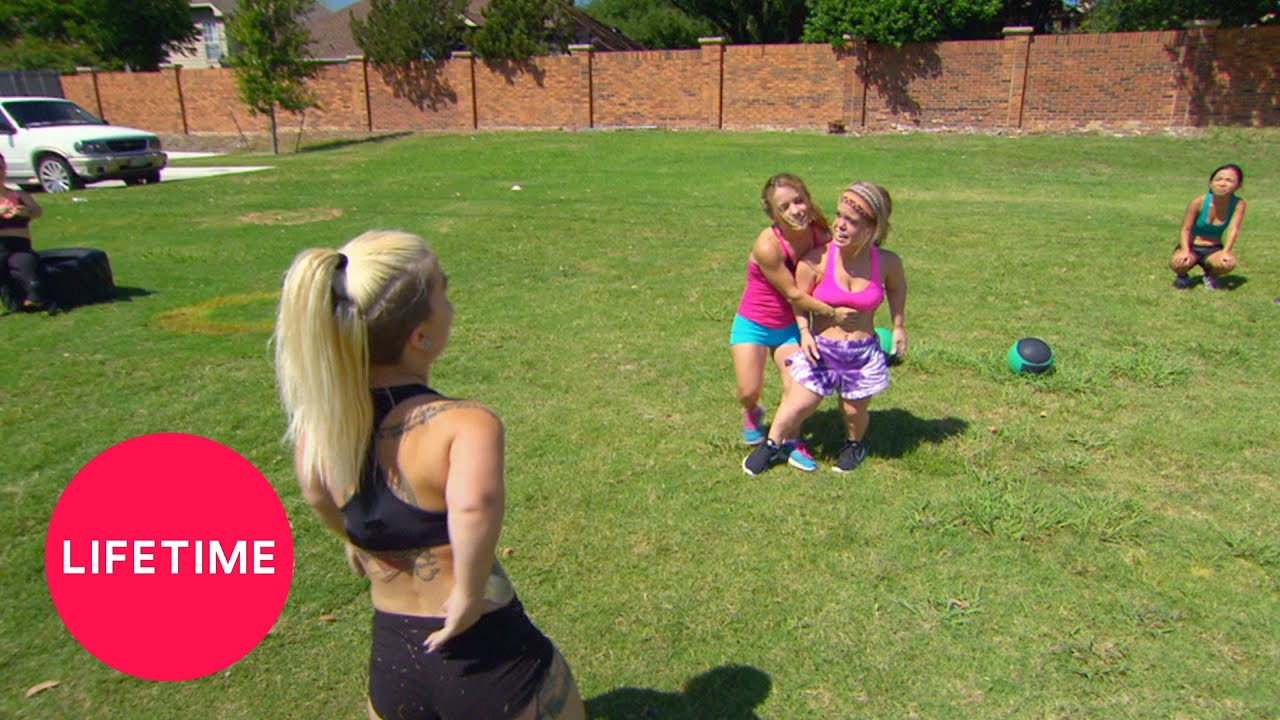 Download Little Women: Dallas - Caylea and Tiffani Fight at Boot Camp (Season 1, Episode 3)   Lifetime