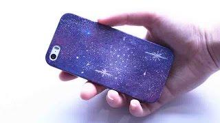 Galaksi Telefon Kabı Nasıl Yapılır? | DIY | Kendin Yap | Galaxy Paint