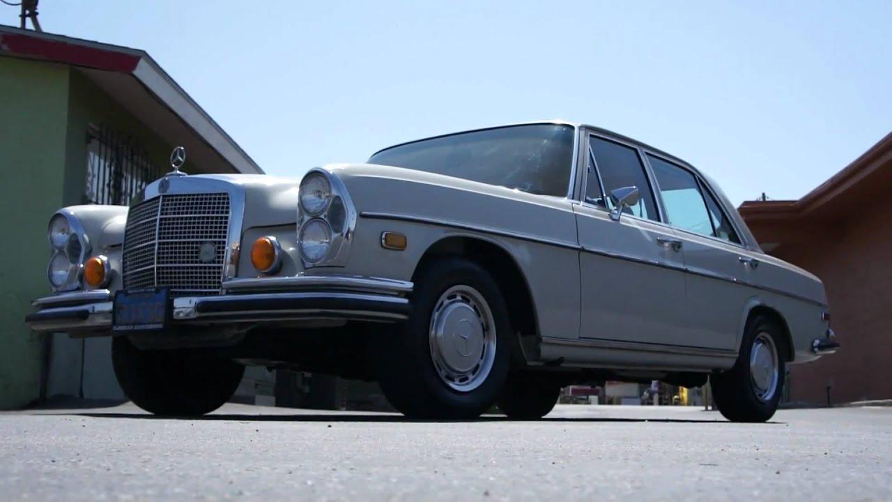 1972 Mercedes Benz W108 280se 4 5 V8 1 Owner Mint Youtube